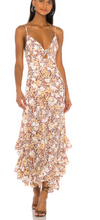Load image into Gallery viewer, Shona Joy - Dixie Tie Front Godet Midi Dress