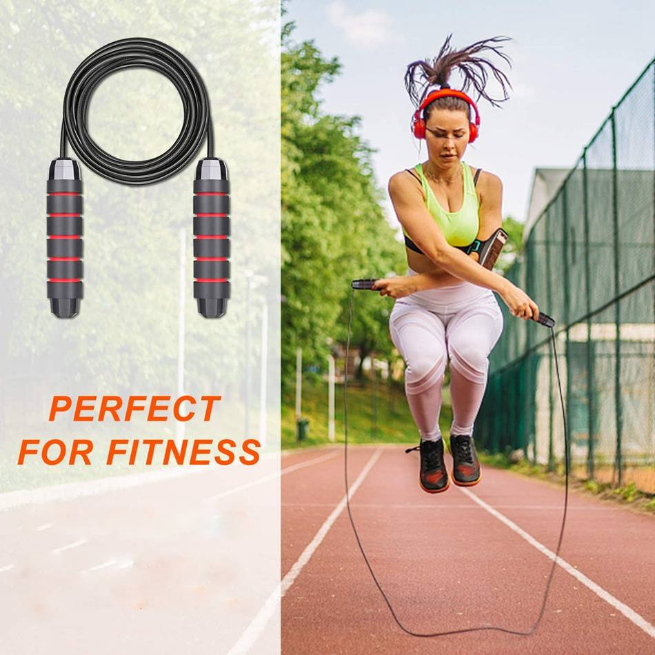 MALAGO Professional Jump Ropes Speed Crossfit Workout Training MMA Boxing |Jump Ropes| {21010021}