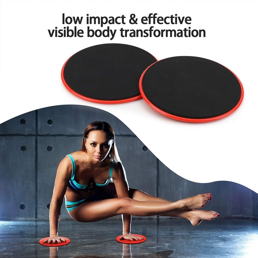 MALAGO 1 Set Gym Fitness Core Sliders Home Abdominal Exercise Equipment Workout Accessories| {21010023}