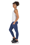 UGS Fortitude High Waisted 7/8 Gym Leggings - Space Blue