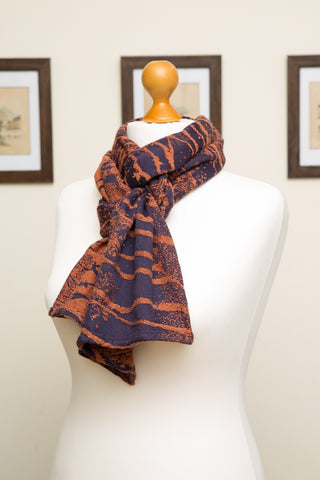 Firespiral Slings - Rusty Twilight Brich Trees Scarf