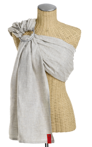 Sakura Bloom - Simple Linen Baby Sling :: Maple