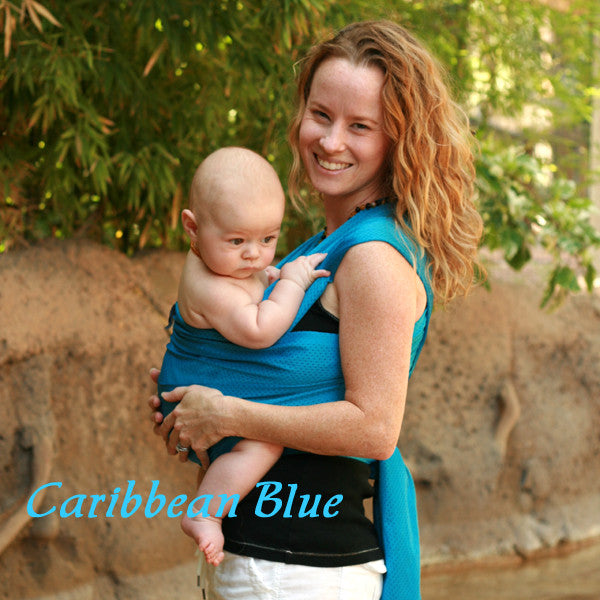 Beachfront Baby - Water Wrap One Size -Caribbean Blue