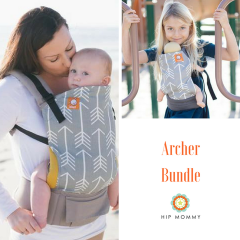 Tula - Archer TODDLER Carrier  + FREE Archare Mini Toy Carrier Bundle (FINAL SALE)