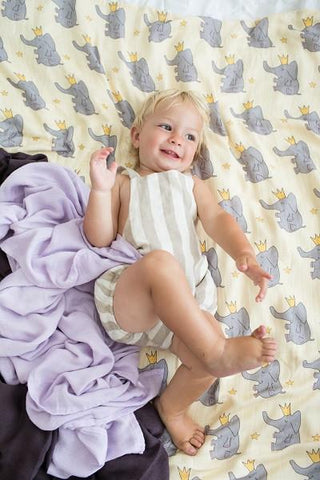Tula Blanket - Elephant Prince Blanket (Set of 3)
