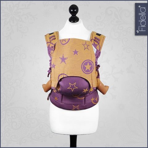 Fidella Fusion Babycarrier with buckles - Outer Space Lilac