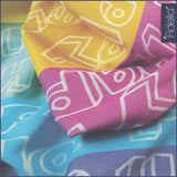 Fidella Woven Wrap  - Happy Colour BoOm Size 6 RETURN [FINAL SALE]