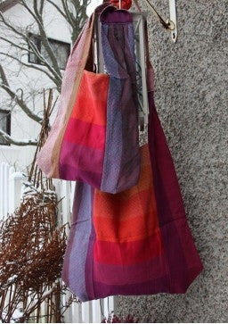 Girasol Bag Earthy Rainbow Diamond - Large
