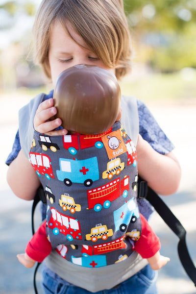 Tula - Look for Helpers Mini Toy Carrier