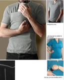 Men's Skin-to-Skin T-shirt (Grey Mix) [FINAL SALE]