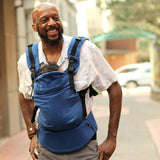 Moby Comfort Blue Baby Carrier - RETURNED ITEM (FINAL SALE)