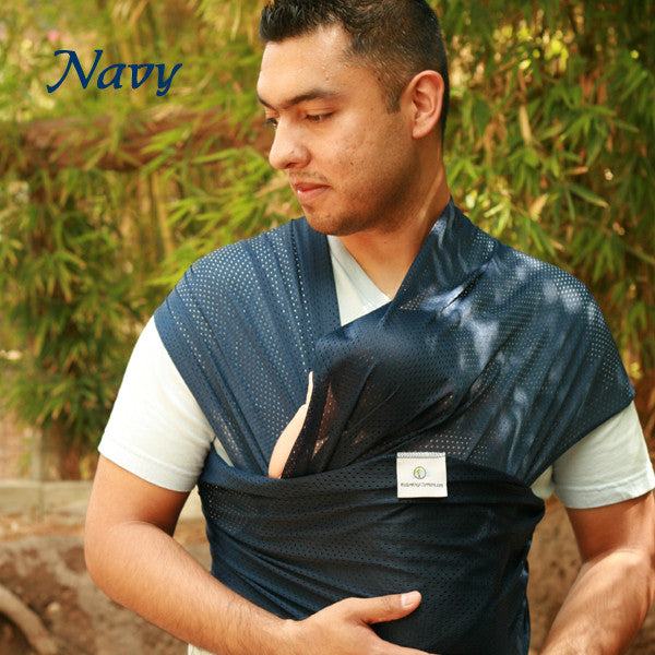 Beachfront Baby - Water Wrap One Size - Navy