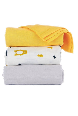 Tula - Oso Blanket (Set of 3)