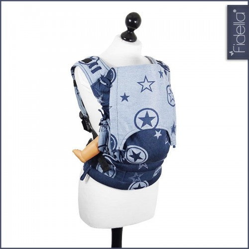 Fidella Fusion Babycarrier with buckles - Outer Space Blue