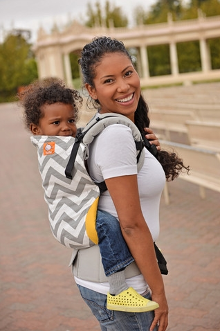 Tula - Zig Zags Gray Ergonomic Toddler Carrier