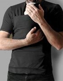 Men's Skin-to-Skin T-shirt - Black