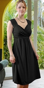 The Elena Dress - Black