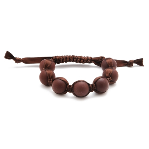 Chewbeads Cornelia Bracelet - Chocolate Brown