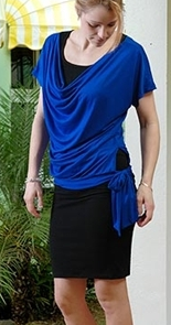 The Zoe-Lumi T-Shirt - Blue