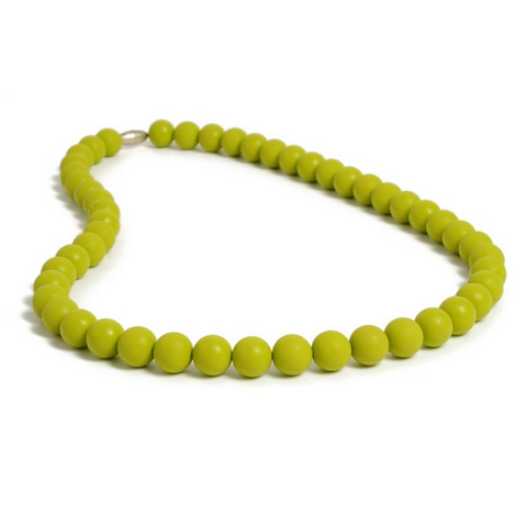 Chewbeads Jane Necklace - Military Olive