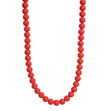 Chewbeads Jane Necklace - Cherry Red