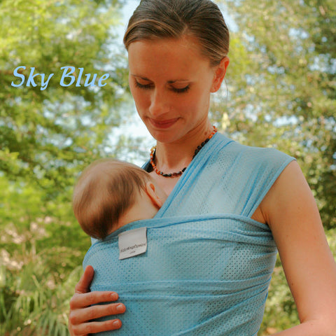 Beachfront Baby - Water Wrap One Size -Sky Blue