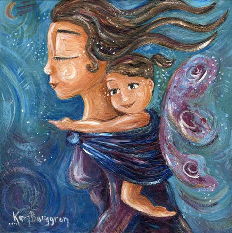 Katie m. Berggren - You are my Wings 12x12