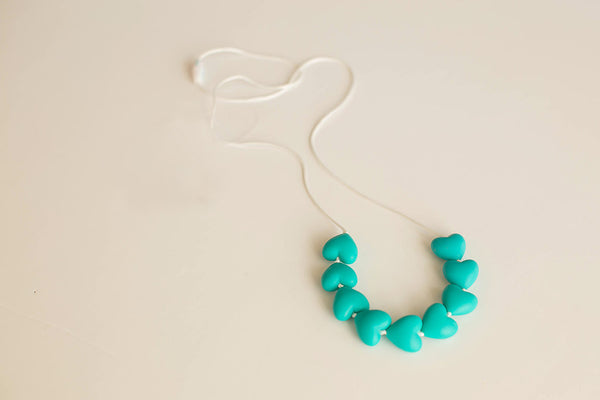 Little Teether - Teething Jewelry - Amore Teal