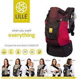 LÍLLÉbaby - Carryon Air - Charcoal Berry with Pocket