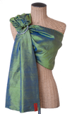 Sakura Bloom - Simple Silk Baby Sling :: Bluegrass