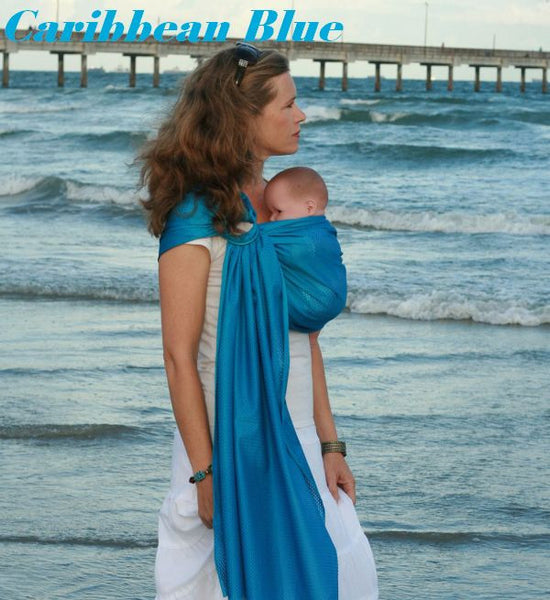 Beachfront Baby - Water Sling One Size -Caribbean Blue