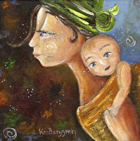 Katie m. Berggren - Child of Focus 12x12