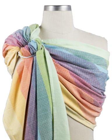 Girasol -Rainbow Springs Diamond Ring Sling
