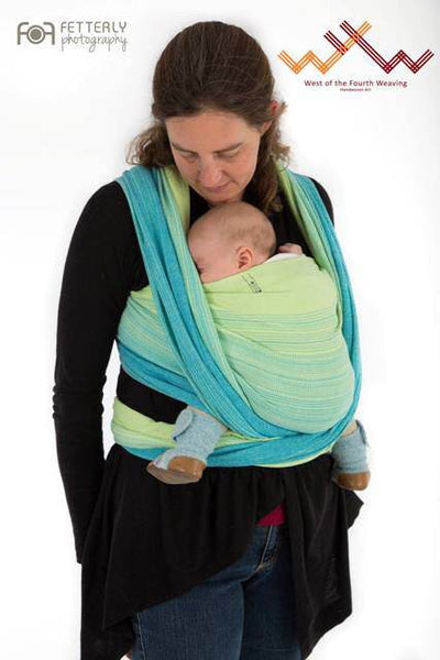 West 4th Weaving - Morning Mist Woven Wrap Accessible Collection