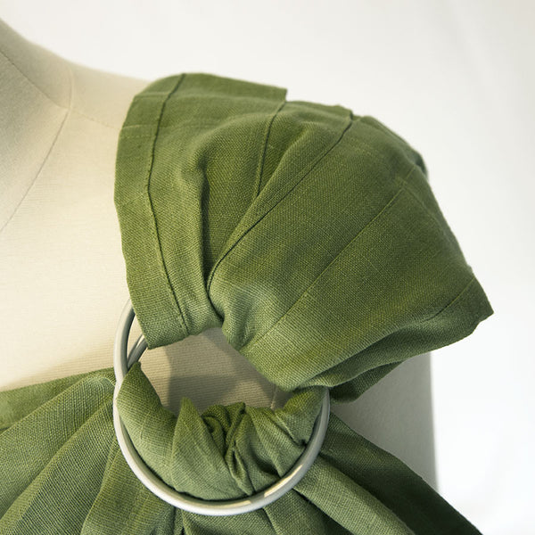 my heart creative -Pleated Olive Green