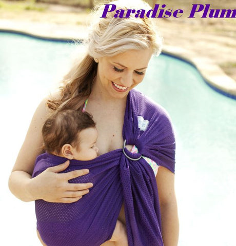 Beachfront Baby - Water Sling One Size - Paradise Plum