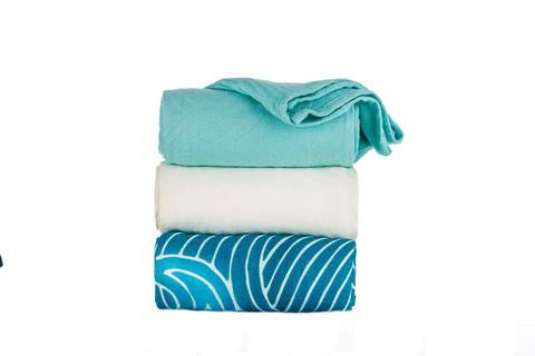 Tula Blanket - Waves Blanket (Set of 3)