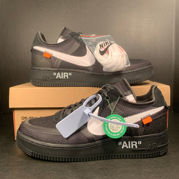 "Air Force One x Off White ""Black"" size 9"