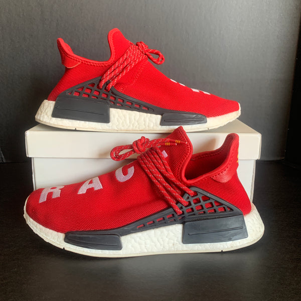 "Adidas Human Race NMD ""Red"" size 8.5"