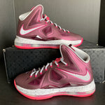 "Lebron 10 ""Crown Jewel"" size 8.5"