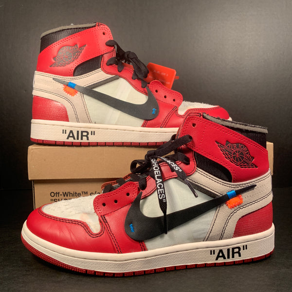 "Air Jordan 1 x Off White ""Chicago"" size 9"