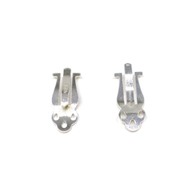 Silver Ear Clip, S60, Small, 6.7x17.3mm