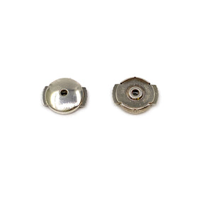 Silver Guardian Ear Nut, S370, Large, Two Trigger, 7mm