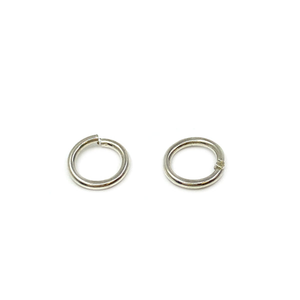 Silver Jump Ring, Round 1x7mm