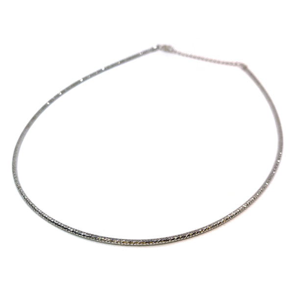 Silver Omega Chain, 1.8mm, 16