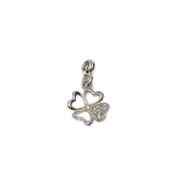 Silver Charm, Clover, RH Plated