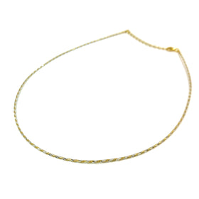 Silver Omega Necklace, Special D/C, 1.2mm, 16