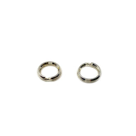Silver Split Ring, Round 7mm