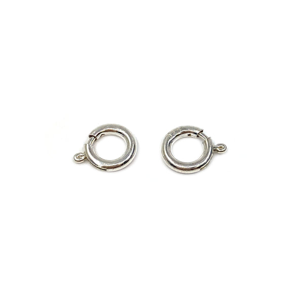 Silver Spring Ring, 8mm Standard, No Ring