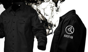 The Black Pearl Edition Knox FR Shirts And Knox Z87 Protective Eyewear